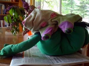 upsidedownfrog